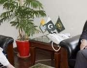 مظفر آباد: وفاقی وزیر امور کشمیر و گلگت بلتستان روشن خورشید کے دورہ ..