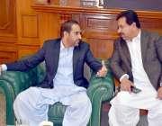 کوئٹہ: وزیراعلیٰ بلوچستان میر عبدالقدوس بزنجو سے رکن صوبائی اسمبلی ..
