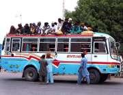 حیدر آباد: عید اپنے پیاروں کے ساتھ منانے کے لیے مسافر ٹرانسپورٹ کی کمی ..
