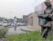راولپنڈی: کچہری چوک میں لگائے جانے والا ماڈل خوبصورت منظر پیش کر رہا ..