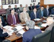 لاہور: صوبائی وزیر آبپاشی سردار محسن خان لغاری نئے منصوبوں کے حوالے ..