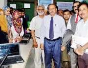 راولپنڈی: بارانی زرعی یونیورسٹی کے وائس چانسلر پروفیسر ڈاکٹر ثروت ..