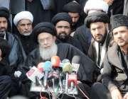 اسلام آباد: تحریک نفاذ فقہ جعفریہ کے سربراہ آغا سید حامد علی شاہ موسوی8محرم ..
