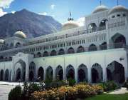 گلگت: جامعہ مسجد کا پرکشش منظر۔
