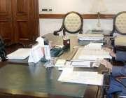 لاہور: نگران وزیراعلیٰ پنجاب ڈاکٹر حسن عسکری سے نگران صوبائی وزیر ہاؤسنگ، ..