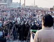 ٹیکسلا: مسلم لیگ (ن) کے رہنما چوہدری نثار علی خان عوامی اجتماع سے خطاب ..