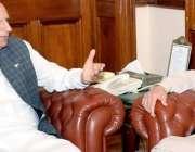 لاہور: گورنرپنجاب چوہدری محمد سرور سے وزیر اعلیٰ پنجاب سردار عثمان ..