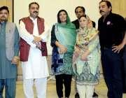 اٹک: فلاحی تنظیموں کا ممبر بورڈ آف گورنر نمل کالج محترمہ علیمہ خان کے ..
