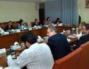 اسلام آباد: وزیر مملکت و چیئرمین بورڈ نعیم زمیندار سے چینی وفد ملاقات ..