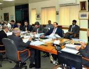 اسلام آباد: چیئرمین نیب جسٹس (ر) جاوید اقبال نیب ہیڈر کوارٹرز میں اعلیٰ ..