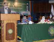 اسلام آباد: ریکٹر جامعہ ڈاکٹر معصوم یٰسین زئی اسلامی یونیورسٹی کے زیر ..
