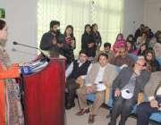 لاہور: پنجاب یونیورسٹی کے کالج آف ارتھ انوائرمنٹل سائنسز میں صفائی ..