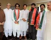 اسلام آباد: چیئرمین پاکستان تحریک انصاف عمران خان کا پی ٹی آئی میں شامل ..