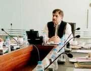 لاہور: صوبائی وزیر توانائی اختر رضا ملک انرجی ڈیپارٹمنٹ میں ایم ڈی ..