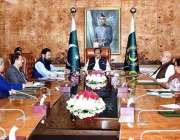 اسلام آباد: صدر مملکت ممنون حسین کو ابتدائی تعلیمی نصاب کے بارے میں ..