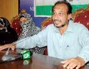 اسلام آباد: بیسک ایجوکیشن کمیونٹی سکولز کے صدر مظہر حسین اساتذہ کے ..