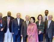 یونائیٹڈ نیشن: یونائیٹڈ نیشن میں پاکستان کی صفیر ملیحہ لودھی کا ایک ..