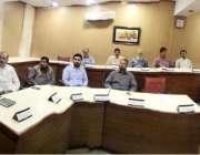 لاہور: ڈائریکٹر جنرل وائلڈ لائف اینڈ پارکس پنجاب خالد عیاز خان پاکستان ..