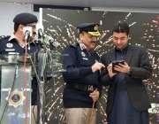 اسلام آباد:وزیر مملکت مراد سعید سمارٹ فون ایپلیکیشن(ہمسفر) کی افتتاحی ..