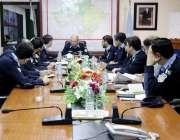 اسلام آباد: آئی جی عامر ذوالفقار خان بارہ ربیع الاول کی سکیورٹی کے حوالے ..