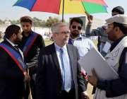 اسلام آباد: پرتگال کے سفیر جاؤ پیالو ورلڈ این جی او ڈے کی تقریب کا دورہ ..