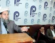 پشاور: فاٹا سٹوڈنٹس فیڈریشن کنونشن کے زیر اہتمام منعقدہ سیمینار سے ..