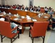 اسلام آباد: ایم او ایس چیئرمین بورڈ آف انویسٹمنٹ ماڈرن ایک اجلاس کی ..