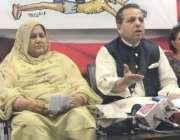لاہور: تحریک انصاف کے سنٹرل پنجاب کے سیکرٹری اطلاعات ڈاکٹر مرادراس ..