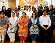 لاہور: صوبائی سیکرٹری ترقی خواتین بشریٰ امان کا لیڈی کونسلروں کے تربیتی ..
