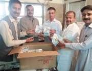 کوئٹہ: سیور انٹر نیشن این جی او اسلام آباد کی جانب سے غریب و نادار مریضوں ..
