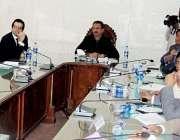 کراچی: میئر کراچی وسیم اختر سے چائنیز سینی ٹیشن کمپنی کا وفد ملاقات ..