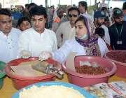 فیصل آباد: ڈی جی پنجاب فوڈ اتھارٹی نورالعمین مینگل سستارمضان بازار ..