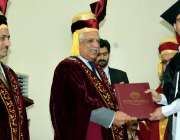 پشاور: گورنر خیبر پختونخوا انجینئر اقبال ظفر جھگڑا کوہاٹ یونیورسٹی ..