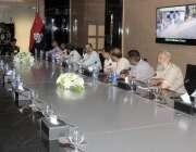 کراچی: ایچ ای جی ریسرچ انسٹی ٹیوٹ آف کیمسٹری کا وفد فارنزک ڈویژن سندھ ..