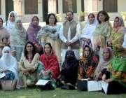 پشاور: خواتین کالجز کی سطح پر سپورٹس فیسٹیول کے حوالے سے منعقدہ اجلاس ..