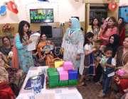 راولپنڈی: مدر ڈے کے موقع پرThe Spriti School کے زیر اہتمام منعقدہ تقریب کے دوران ..
