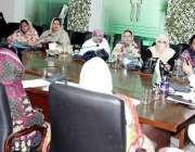 لاہور: سیکرٹری پرائمری اینڈ سیکنڈری ہیلتھ پنجاب علی بہادر قاضی لیڈی ..