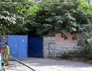 راولپنڈی: پنجاب پولیس کی نا اہلی کے باعث تھانہ کینٹ کا گیٹ کھنڈرات کا ..