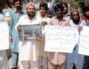 حیدر آباد: قاسم آباد واٹر پلانٹ کے آپریٹر تنخواہیں نہ ملنے کے خلاف احتجاجی ..