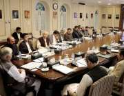 پشاور: وزیر اعلیٰ خیبر پختونخوا محمو دخان اچکزئی کی زیر صدارت اہم اجلاس ..