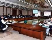 اسلام آباد: وزیراعظم شاہد خاقان عباسی اعلیٰ سطحی اجلاس کی صدارت کر ..