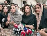 قصور: تحریک انصاف ویمن ونگ ایگزیکٹو کونسل کی ممبر مسرت جمشید چیمہ زیادت ..