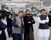 طورخم: وزیر مملکت داخلہ شہر یار خان آفریدی، وزیر اطلاعات خیبر پختونخوا ..