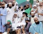 لاہور: تحریک لبیک پاکستان کے زیر اہمام عام انتخابات میں مبینہ دھاندلی ..