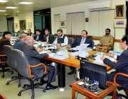 اسلام آباد: چیئرمین نیب جسٹس (ر) جاوید اقبال نیب ہیڈ کوارٹرز میں اجلاس ..