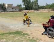 ملتان: قائداعظم سپر لیگ ٹورنامنٹ کے دوران ڈی جی خان اور میرپور خاص کی ..
