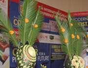 لاہور: مقامی ہوٹل میں حلال فوڈ کانفرنس و نمائش میں کوتھم کے سٹال پر ..