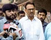 کراچی: مجلس وحدت المسلمین اور پاکستان تحریک انصاف کے مشترکہ امیدوار ..