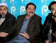 پشاور: آل سب انجینئرز ایسوسی ایشن کے صوبائی صدر بشیر خان پریس کانفرنس ..