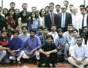 لاہور: صوبائی وزیر ایکسائز مجتبیٰ شجاع الرحمن کا ایف سی کالج میں سی ..